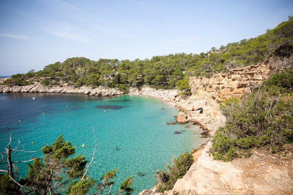Ibiza al descubierto: Cala Salada y Cala Saladeta - La Torre